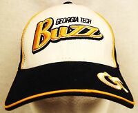 Georgia Tech Ball Cap Hat Yellow Jackets Officially Licensed Buzz One Size Strap