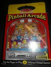 Melissa & Doug On the Go Pinball Arcade Travel Game - Fast shipping!!