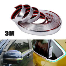 3M Car SUVs Chrome DIY Moulding Trim Strip For Grille Window Door Bumper Kit