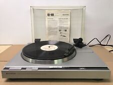 New ListingKenwood Kd-40R Turntable Direct Drive Semi-Auto Record Player Pickering Works