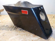 GENUINE HARLEY 80-84 VINTAGE TOURING HARD FIBERGLASS SADDLEBAG BLACK RIGHT SIDE