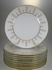 Syracuse China Marquesa Gold Salad Plates Set of 10