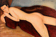 Reclining Nude from the Back by Amedeo Modigliani 60cm x 40cm Art Paper Print
