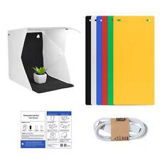 LED Light Mini Photography Tent Portable Folding Photo Studio Shooting Box Kits