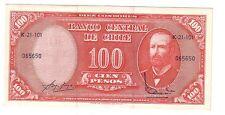 Cile Chile 10 cents su 100 pesos 1960 1961 pick 127   FDS UNC   ref 2373
