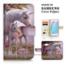 Unicorn Mobile Phone Flip Cases for Samsung