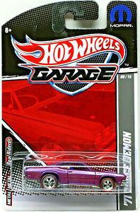 Hot Wheels 2011 Garage Series '71 DODGE DEMON w/RRs (Purple)
