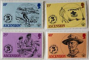 1982 Ascension Scouts Stamp Set | Sc #301-4 SG #306-9 | MNH OG