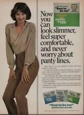 1980 No Nonsense Control Top Pantyhose Vintage Magazine Ad Page Cute Girl