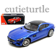 Maisto Mercedes Benz AMG GT 1:18 Diecast Model Car Exclusive Edition 38131 Blue