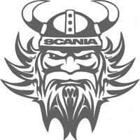SCANIA Truck vinyl sticker/decal for lorry Graphics x2 in 9 colours