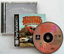 Dukes of Hazzard: Racing for Home Sony PlayStation 1 PS1 1999 CIB Black Label