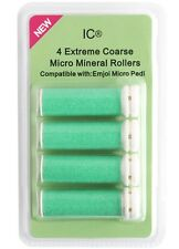 4 X Extreme Coarse Green Micro Mineral Replacement Rollers Compatible With Emjoi