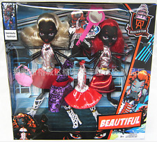 2PCS  Monster High Scaris City of Frights Webarella Wydowna Spider Doll