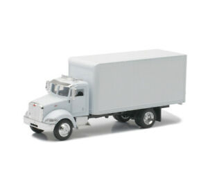 8 Inch - Peterbilt 335 Box Delivery Truck 1/43 Scale Diecast Metal Model