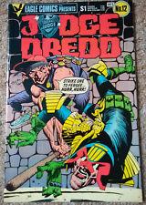 JUDGE DREDD # 12 (1984) EAGLE COMICS (VFN Condition)