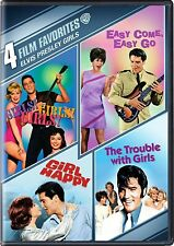 Elvis Presley Girls (DVD) 4 Film Favorites Brand New Sealed