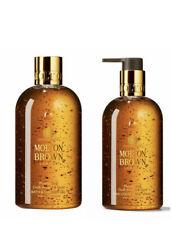 Molton Brown Mesmerising Oudh Accord Shower GEL & Gold Hand Wash 300ml LUXURY