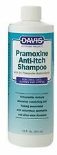 Davis Pramoxine Anti-Itch Dog Cat Pet Shampoo, 12 oz. 355 ml.
