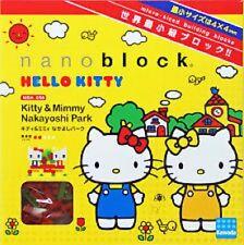 Kawada Nanoblock - Hello Kitty & Mimmy Nakayoshi Park (NBH-056) - NEW