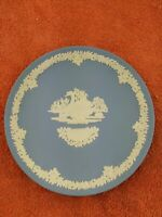 Vintage Wedgwood Blue Jasperware Mother Plate 1978