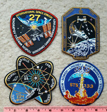 4 NASA Space Shuttle mission patches : missions 27, 126, 133, 134