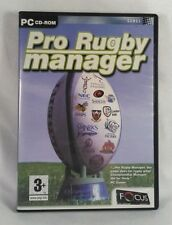 Pro Rugby Manager PC Game - 2004 PC CD-ROM Game