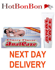 Anal Eaze Anal Desensitising Lube/Cream Cherry Flavour FREE OVERNIGHT DELIVERY