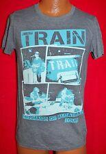 TRAIN 2013 Mermaids Of Alcatraz Concert Tour T-SHIRT S San Francisco ROCK BAND