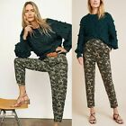 Anthropologie Amadi Floral Camo Ankle Pants Size S
