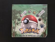 🌟 Pokemon TCG JUNGLE 1ST EDITION Factory Sealed SPANISH Booster Box 36 Packs 🌟