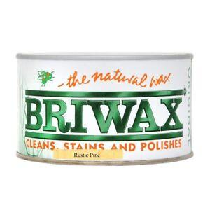 Briwax Original Natural Wax Polish 400g Wood Furniture Cleaner Stain Restorer