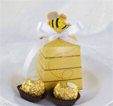 10x Honey Bee Candy Boxes Wedding Favor Party Gift Box Party Gift Boxes Bags
