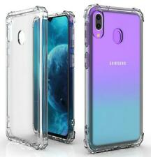Shockproof 4 Corner Case Gel Cover for Samsung Galaxy A10 - Clear