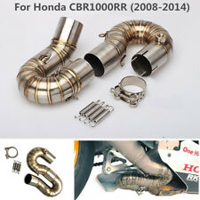 Motorcycle Exhaust Pipe Connector Middle Link Pipe For Honda CBR1000RR 2008-2014