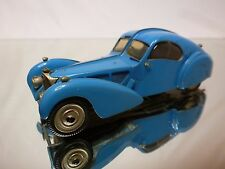 WESTERN MODELS KIT (built) BUGATTI 057SC ATLANTIC 1938 - BLUE 1:43 - GOOD  COND.