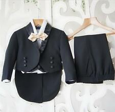 New Custom Babys Toddlers Party Graduation Suits Wedding Page Boys Kids Tuxedos