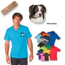 Bestickte Kurzarm Herren-Freizeithemden & -Shirts aus Baumwolle