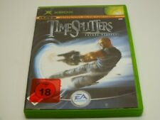 !!! XBOX CLASSIC SPIEL Time Splitters Future Perfect USK18 GUT !!!