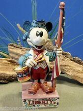Jim Shore Disney Traditions The Ultimate Patriot 4004151 Brand New in Box