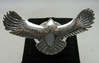 STERLING SILVER RING SOLID 925 NEW EAGLE HANDMADE ADJUSTABLE SIZE