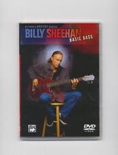 BILLY SHEEHAN - BASIC BASS GUITAR  DVD *NEW*