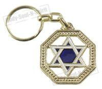 Llavero Estrella de David amuleto de la suerte de Israel idea de regalo judaica