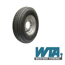 Wheel & Tyre 400/480x8 4 stud 115mm PCD for Erde & Daxara small trailers