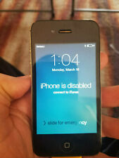 Apple IPhone 4 Disabled Phone , For Parts Used A1349