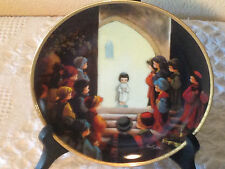 Hc Collector Plates:Precious Moments (Jesus in the Temple)
