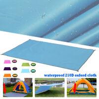 Anit-UV Tent Tarp Rain Sun Awning Shade Hammock Shelter Camping Beach Pad