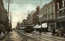 St. Thomas Ontario ON Dundas Street c1910 Postcard