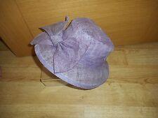 Ladies Formal  Hat Wedding Races PURPLE