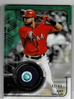 2019 Topps Tribute Stamp of Approval Texas Rangers Joey Gallo 92/99